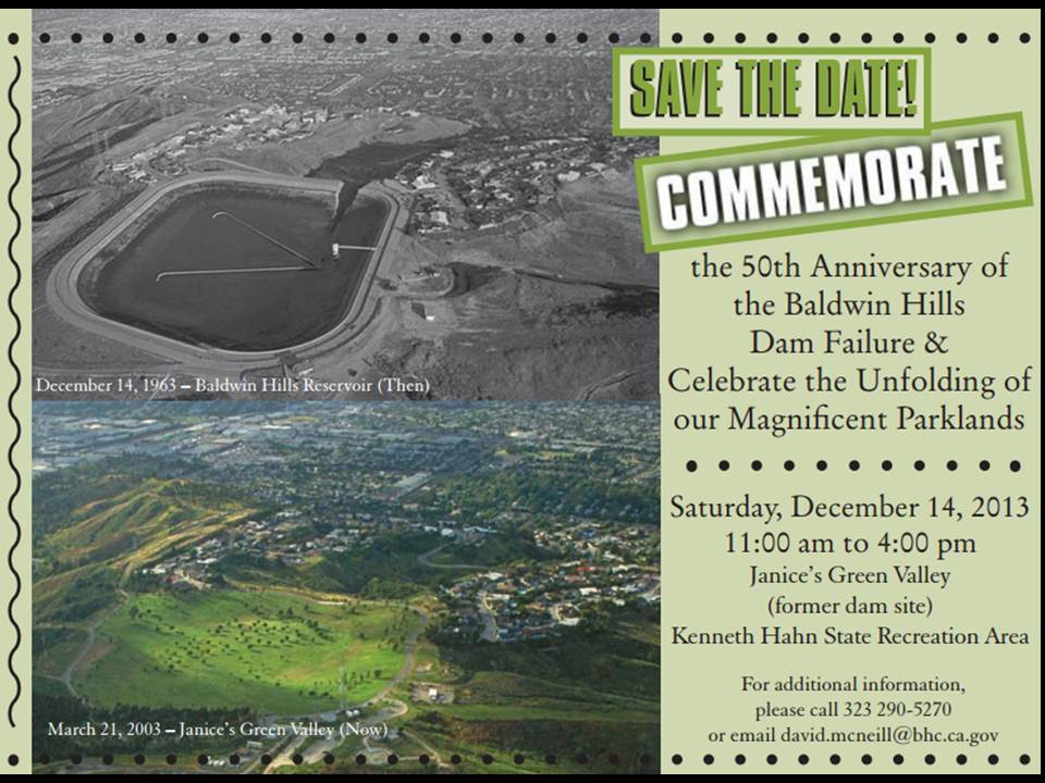 Baldwin Hills Commemoration
