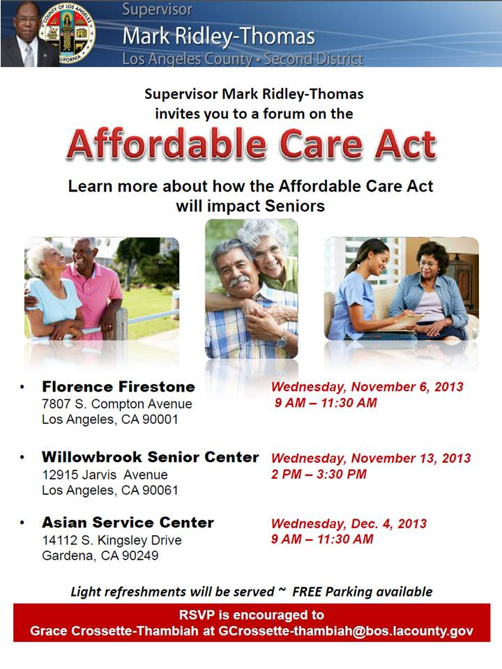 Affordable Care Act 101Flyer Image