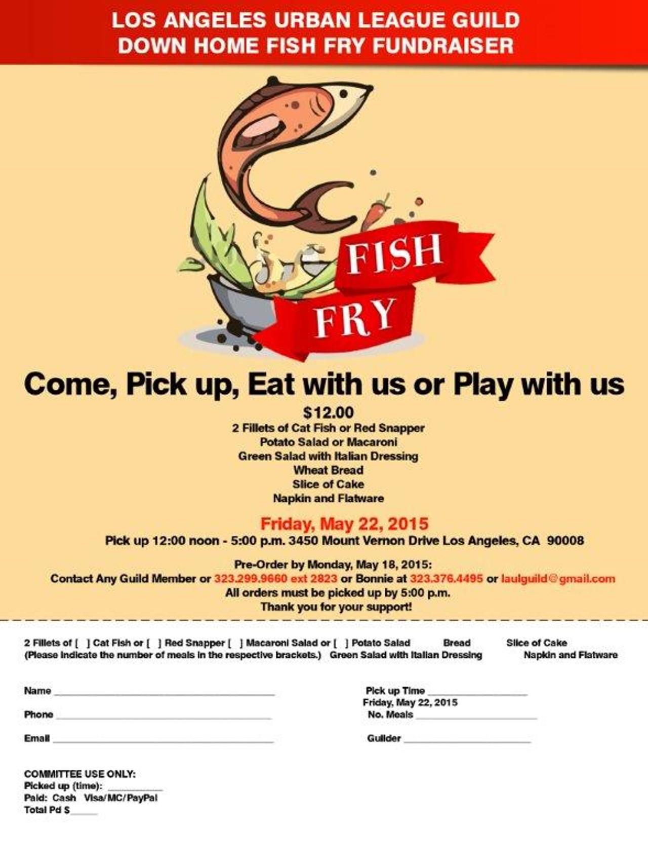 LAUL Guild Fish Fry 05.22.2015