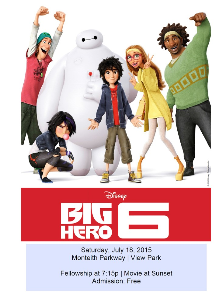 Big Hero 6 Movie Night  Image